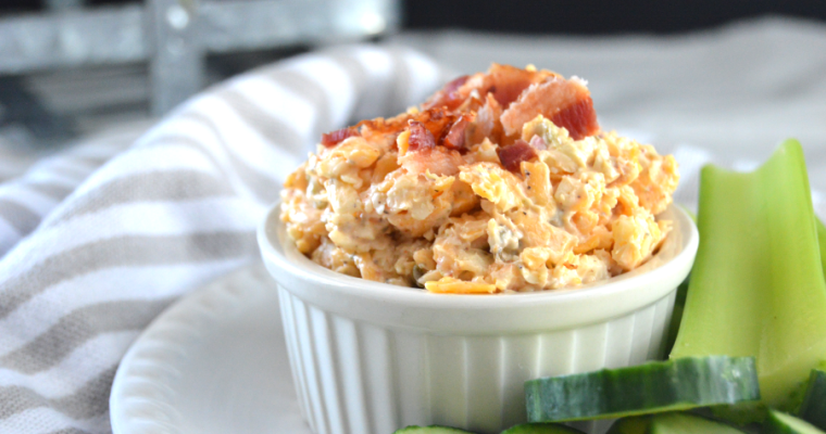 Jalapeno Popper Pimento Cheese – Low Carb, Keto, GF