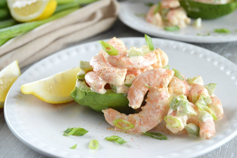 Bayou Shrimp Salad