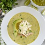 Chicken Verde Enchilada Soup 2