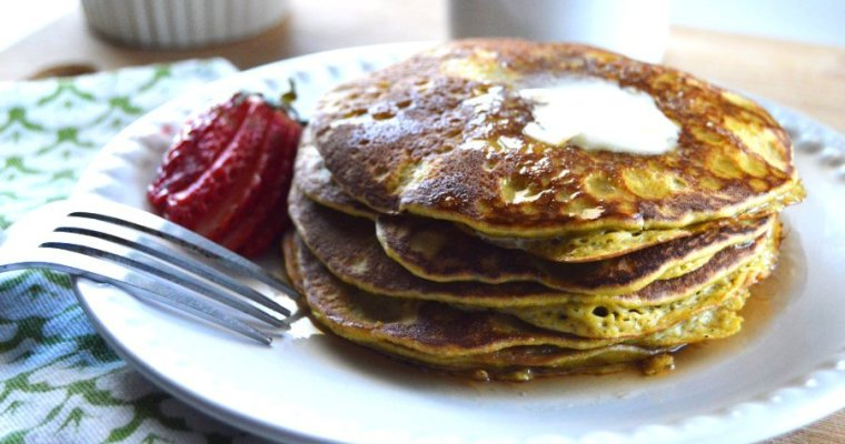 Peanut Butter Keto Pancakes –  DF, GF