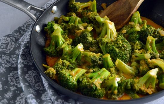 Thai Red Curry Broccoli