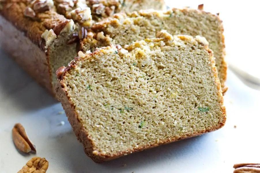 Low carb zucchini bread keto
