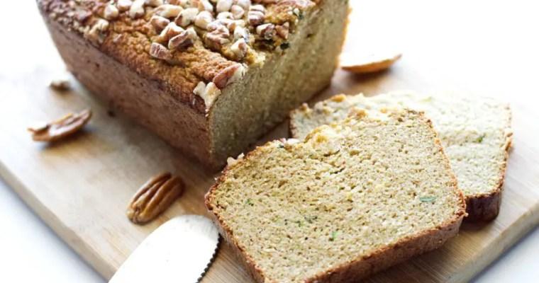 Keto Zucchini Bread – Low Carb, GF