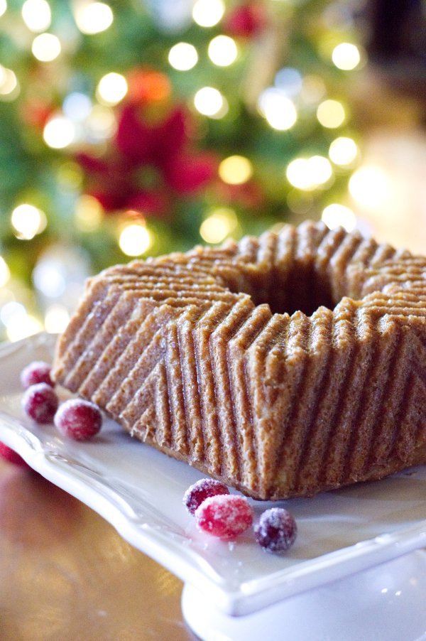 Holiday Keto Rum Cake - Low Carb, Gluten Free