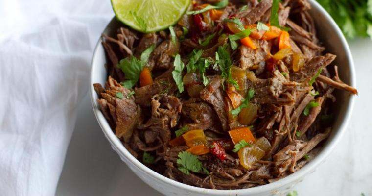 Mexican Shredded Beef – Instant Pot