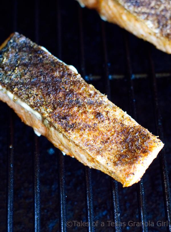 Grilled Salmon with Crispy Skin - Low Carb and Keto Recipe