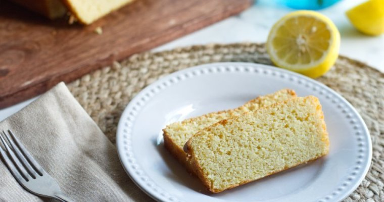 Keto Lemon Loaf Cake