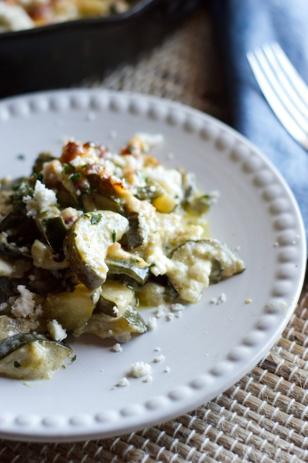 Keto Zucchini Side Dish