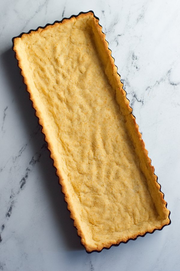 Coconut Flour crust for cranberry brie tart