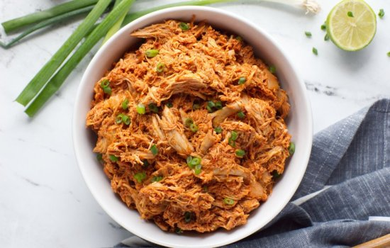 Keto Mexican Shredded Chicken