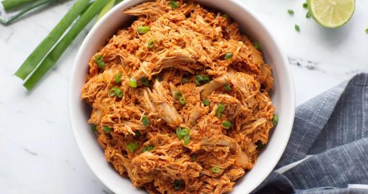 Keto Mexican Shredded Chicken