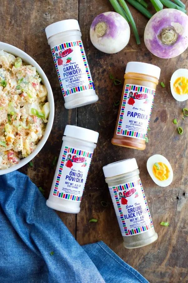 spices for keto potato salad