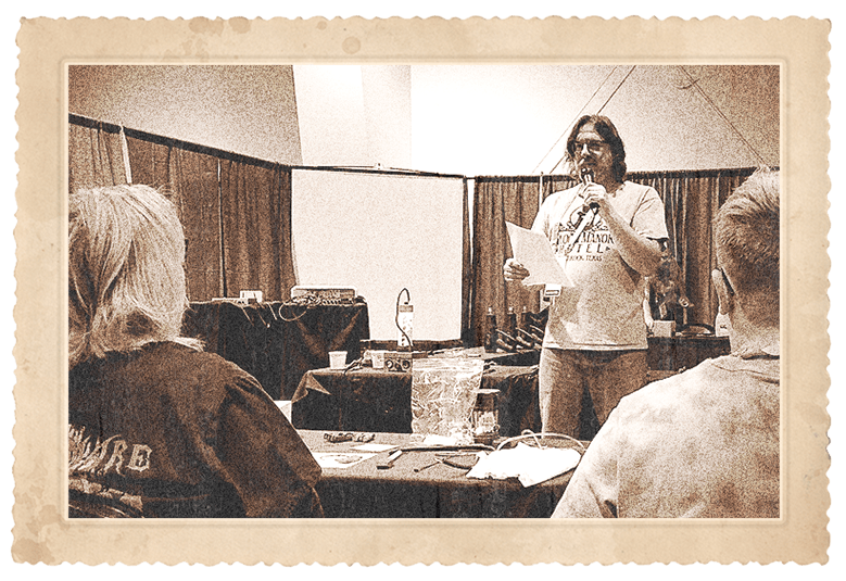Teaching at the Convention