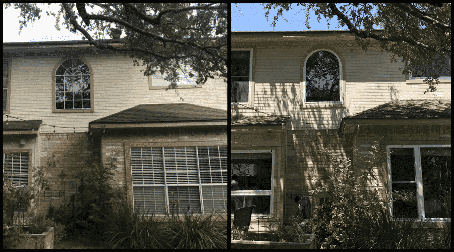 Before and After Home Window Installation