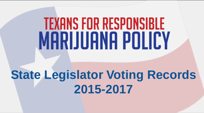 Texas: Did your legislators support marijuana law reform?