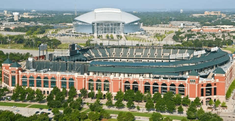Arlington Texas Arial Image