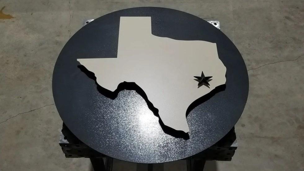 Custom Outdoor Texas Wall Art