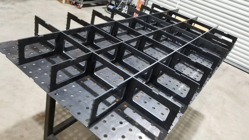 Welding Table Ribs