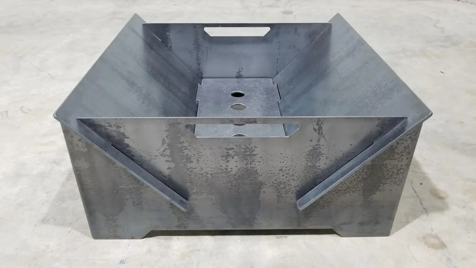 Modern Collapsible Patio Firepit