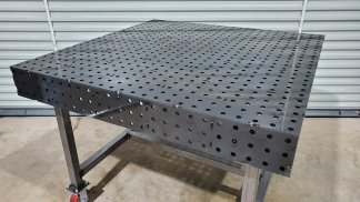 Welding Table – 50″ x 50″ Fully Fabricated Weld Tables