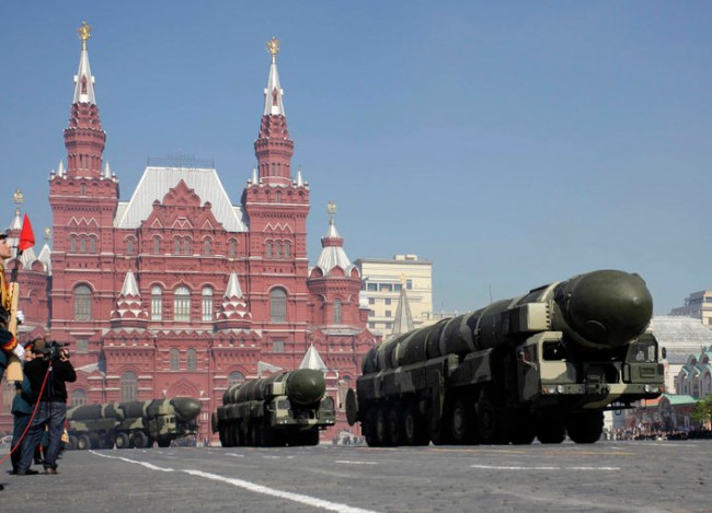 Russia Observes Victory Day Parade