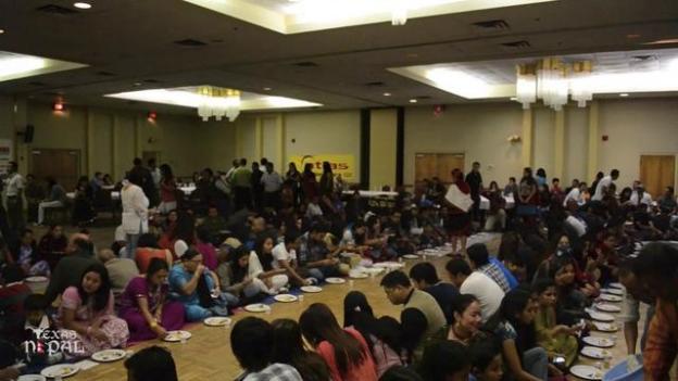 नेवारी भोज तथा सास्कृतिक कार्यक्रम अर्विङमा भब्यताका साथ सम्पन्न