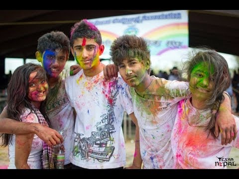 Grand Holi Celebration by ICA on March 24, 2013 at Grapevine Lake