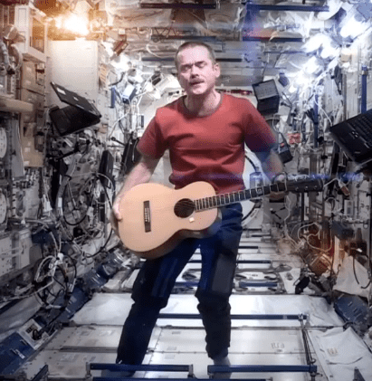 Space Oddity by Canadian Astronaut Chris Hadfield   YouTube