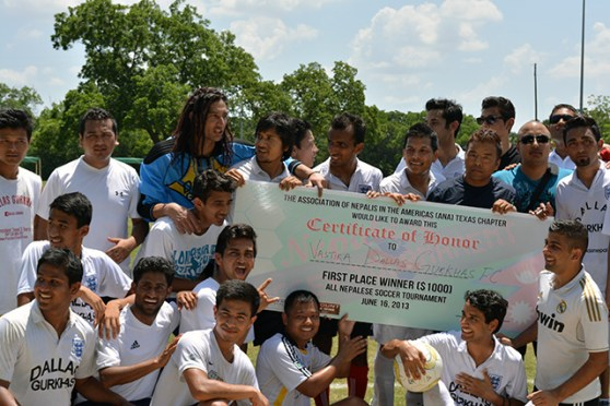 All Nepalese Soccer Tournament successfully organized by ANA Texas Chapter