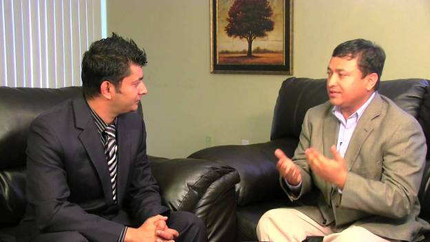 Jiwan Parivesh with Prakash Koirala, President of the Bhutanese Society of DFW