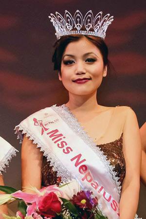 Bartika Rai, Miss Nepal US 2013 (Photo: Bikrant Shrestha)