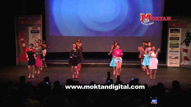 Miss Nepal US 2013 Finalists Performing Opening Combination Dance