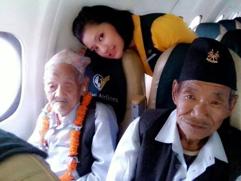 A Month after Fulfilling His Last Wish, 106 Year Old Breathed His Last