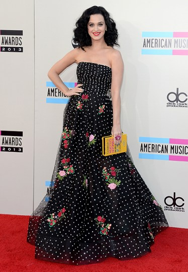 Katy Perry attends the 2013 American Music Awards on Nov. 24, 2013 in Los Angeles. Credit: Jason Merritt/Getty Images
