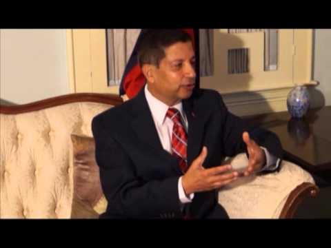 अमेरिकाका लागि नेपाली महामहिम राजदूत डा शंकर प्रसाद शर्मा संग बिबिध बिषयमा लिइएको अन्तर्वार्ता
