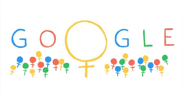 International Women's Day Doodle 2014 by Google