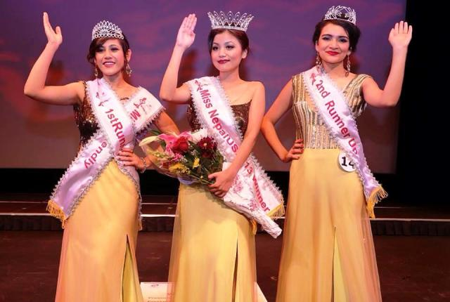 Miss Nepal US 2013 Winners