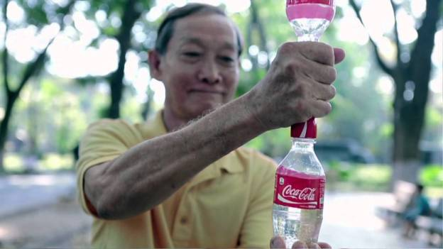 Coca-Cola Invents 16 Crazy Caps to Turn Empty Bottles Into Useful Objects