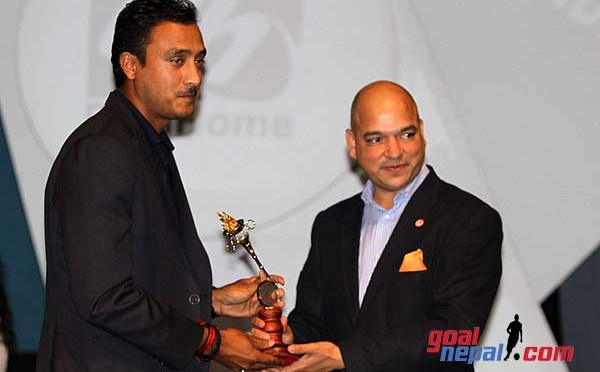 Paras Khadka Wins Player of the Year in Pulsar NSJF Sports Awards