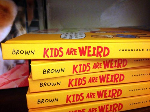 Not the best place to put author's name!