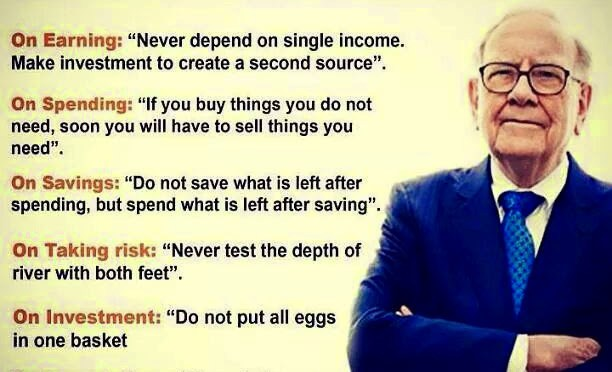 Excellent Tips by Warren Buffett