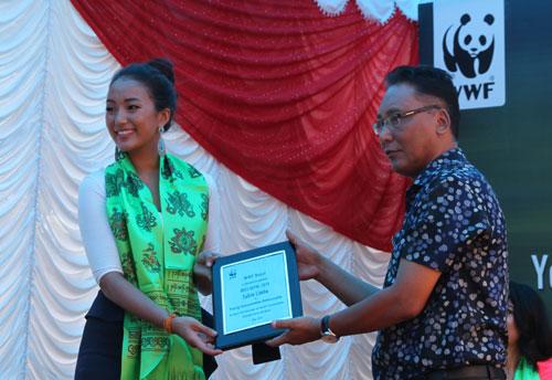 Miss Nepal '14 Subin Limbu Named WWF Young Conservation Ambassador