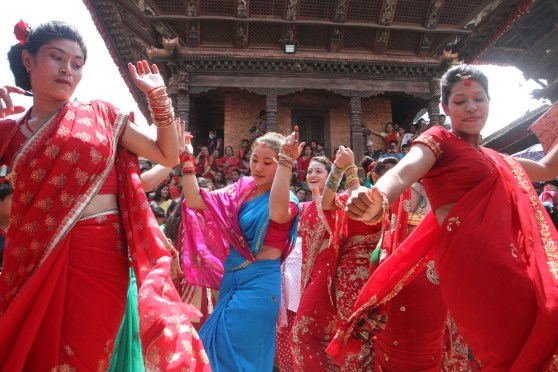 Painting it Red: Teej Celebration In The Country