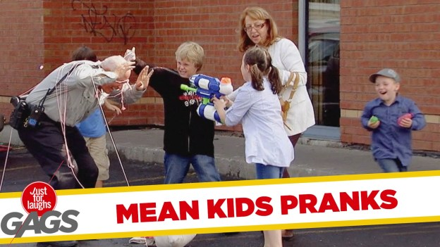 Mean Kids Pranks – Best of Just for Laughs Gags