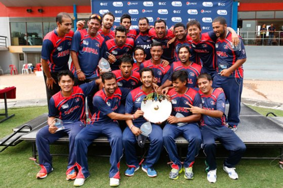 Nepal Champions ICC World Cricket League Division 3