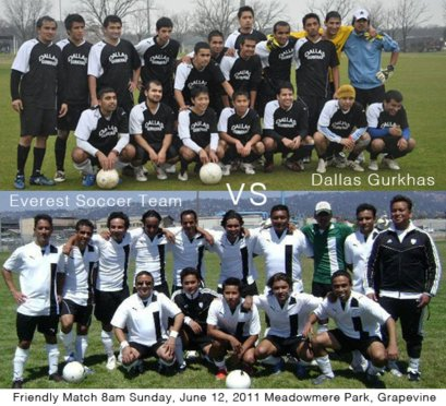 Dallas Gurkhas vs Everest Soccer Team