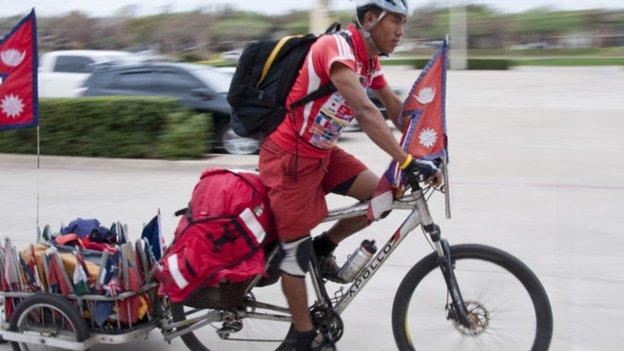 Furtemba Sherpa – Nepali World Tour Cyclist