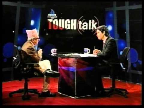 Madhav Prasad Ghimire in TOUGH talk with Dil Bhusan Pathak