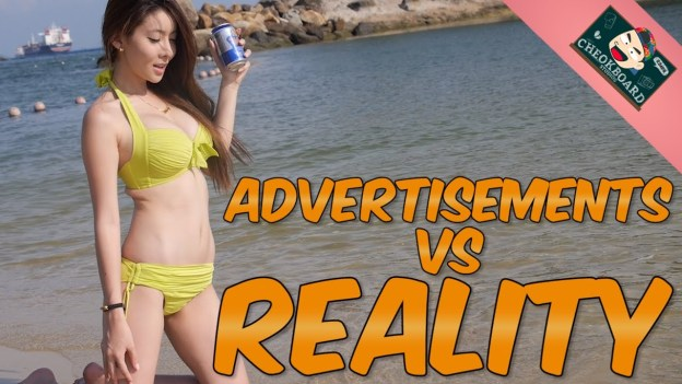 Advertisement in real life