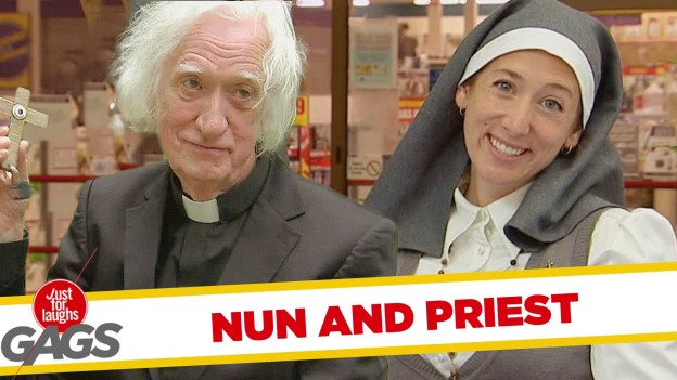 Nun and Priest Pranks – Best of Just For Laughs Gags